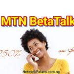 mtn beta talk code