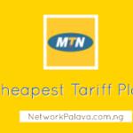 mtn cheapest tariff plans code