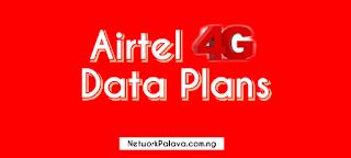 airtel 4g data plan code in nigeria