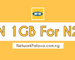 mtn 1gb for 200 naira subscription code