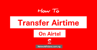 how to transfer airtime on airtel