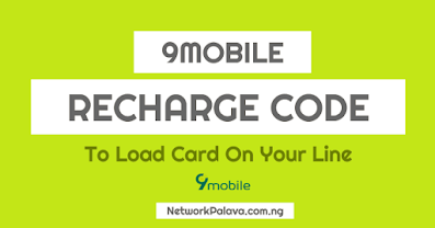 9mobile recharge code