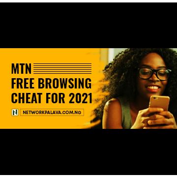mtn free browsing cheat code