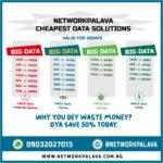 network palava cheap data plans code