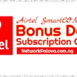 Airtel Smart Connect Bonus Data Plans Subscription Codes