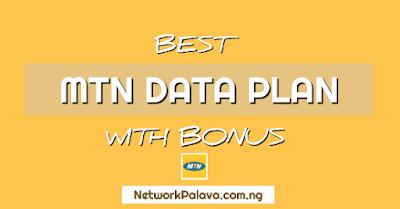mtn data plan with bonus