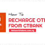 how to recharge other network from gtbank
