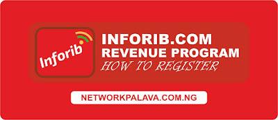 inforib revenue program registration sign up