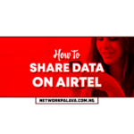 how to share data on airtel