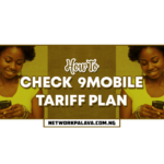 how to check 9mobile tariff plan code