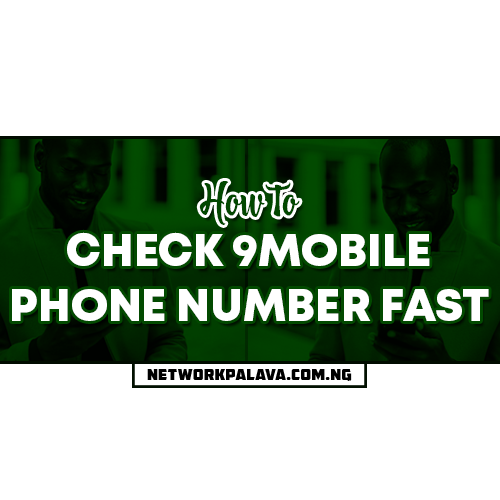 how to check my 9mobile number