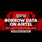 how to borrow data from airtel
