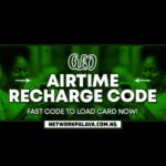 glo recharge code