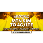 how to upgrade mtn sim to 4g lte code