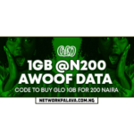 glo 200 for 1gb data plan code