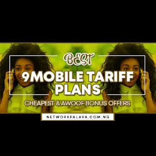 9mobile tariff plans code