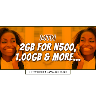 mtn 500 for 2gb code