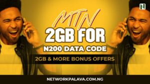 mtn 200 for 2GB code