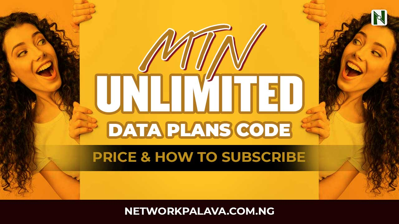 mtn unlimited data plan code