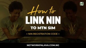 code to link nin to mtn