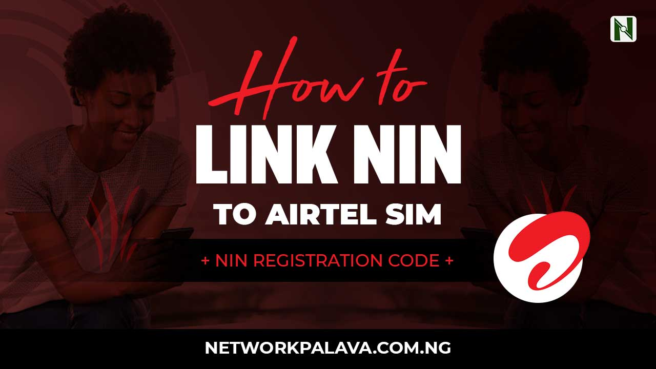 how to link nin to airtel code